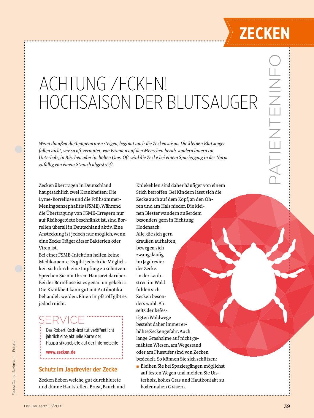 Groß Anatomie Einer Zecke Fotos - Physiologie Von Menschlichen ...