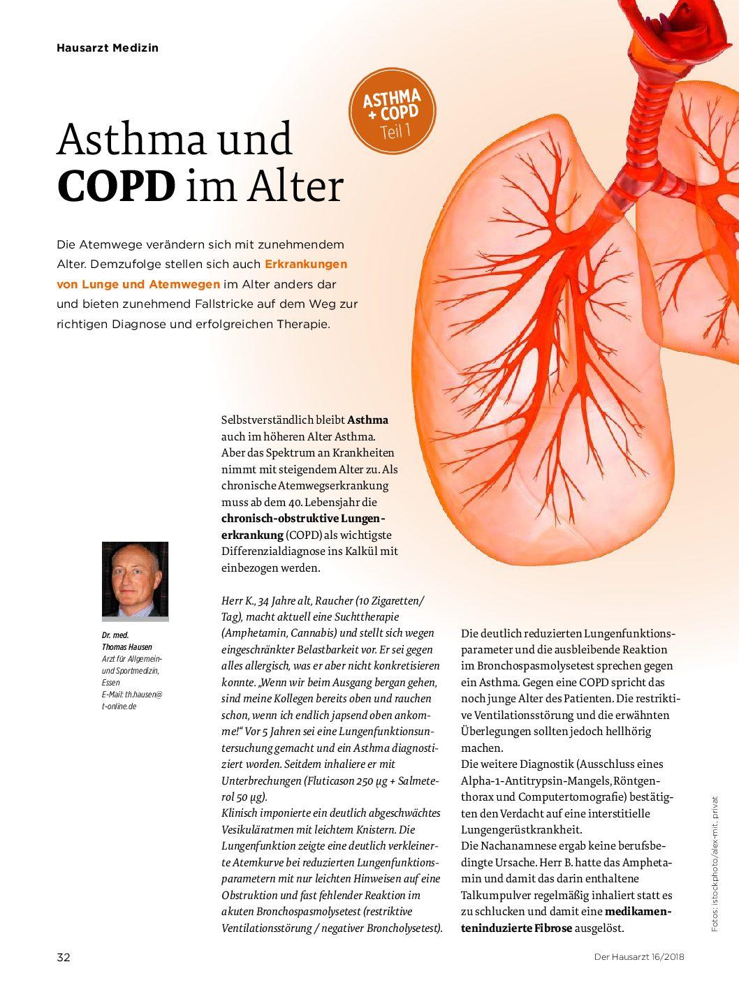 Asthma und COPD im Alter – Der Hausarzt